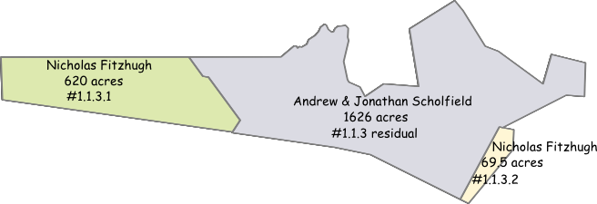 Partial division of parcel 1.1.3 and sale of residual