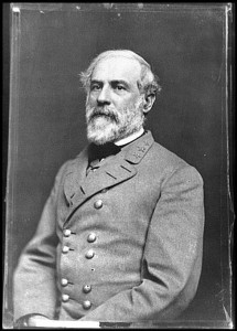 Portrait of Gen. Robert E. Lee, officer of the Confederate Army